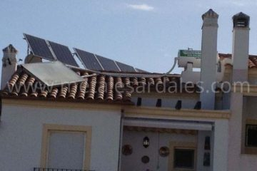 instalacion solar y termina