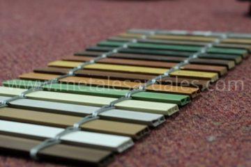 colores de persianas de PVP