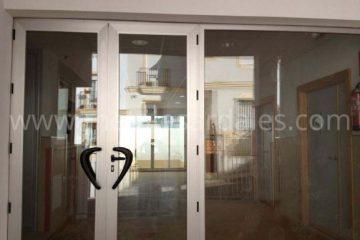 puerta y cierre de aluminio cristal climalit