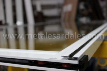 rodamientos ventana de aluminio